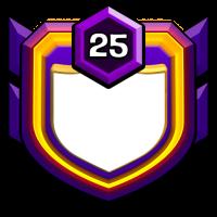 % AK SAÇLI % badge