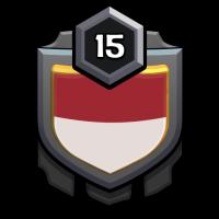 CINTA INDONESIA badge