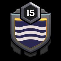 Dark Halloween badge