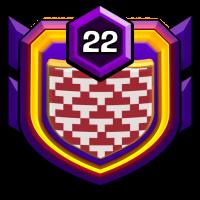 自由女神之不战部十八营 badge