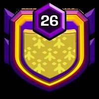 天龙部落『两仪』 badge