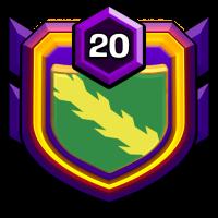 パリッジブルー badge