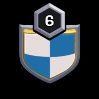 Smurf Village badge