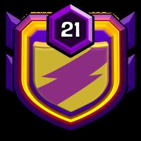 FREE PARKIR badge