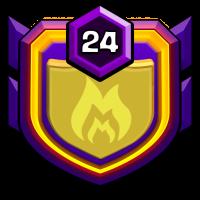 团队王者 badge