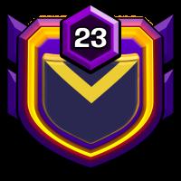 EVILS OF PERSIA badge