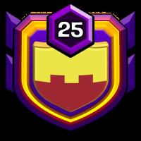 Born For War!! badge