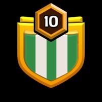 SUPRIM KING'S badge