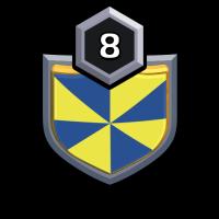 五人黑 badge