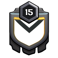 Gold Clans badge