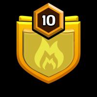 GOD OF ENERGY badge