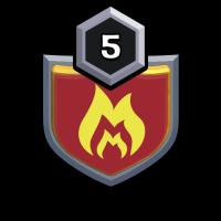 WARSHOCKER badge