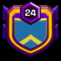 persian badge