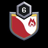 TIGER CLAN badge