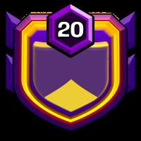 OLD FOLKS HOME badge