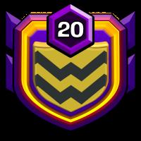 Clankämpfer badge