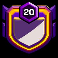 BD Indomitable badge