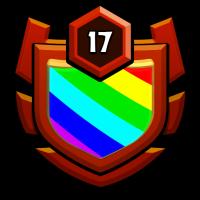 鲨王 badge