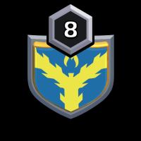 cricket lover badge