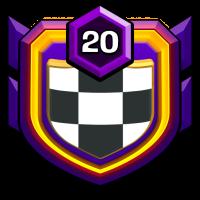 """""""KMaximuSK"""" badge"""