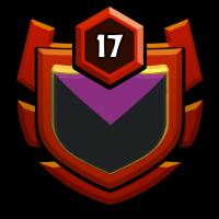 Binary code badge