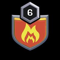 Demonic Burning badge