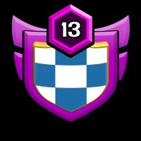 T for terminate badge