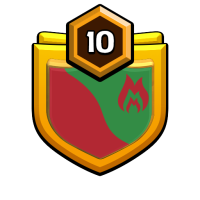 COC ALL FRIENDS badge