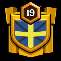 !SWEDEN! badge