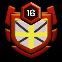 比比新部落战士 badge