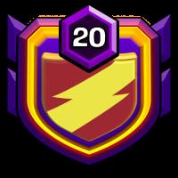 实力战盟 badge