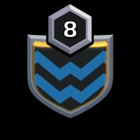 Reborn Warriors badge