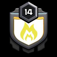 周家 badge