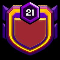 自由女神之不战部七十八营 badge