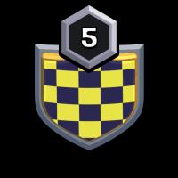 NO.1 badge
