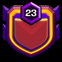 自由女神之不战部十五营 badge