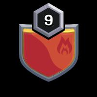 (عقاب پرتیکان) badge