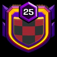 SUPREM CLASH badge
