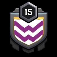 和睦相处 badge