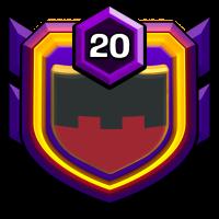 THUNDER WOLVES badge