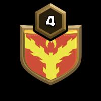 7号、部落 badge