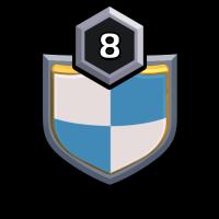 聚集点 badge