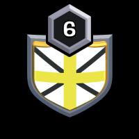 """HD"""" WAR badge"""