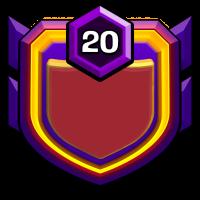 自由女神之不战部四十七营 badge