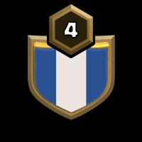 Blauhorn badge