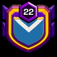 Italian Champs badge